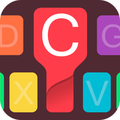 Download CooolKey - Keyboard for Color Lovers free for iPhone, iPod and iPad